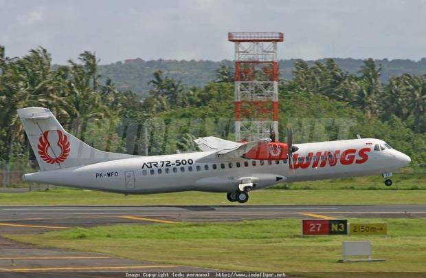 wings air, Malang-Denpasar